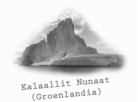 Greenland CUADRADO blanca CAST